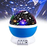 2-10 Year Old Boy Toys, Friday Night Light Rotating Projector for Kids Babies Toddlers Baby Toys for 2-10 Year Old Boys 2-10 Year Old Boy Girl Gifts Blue FDUKNL01