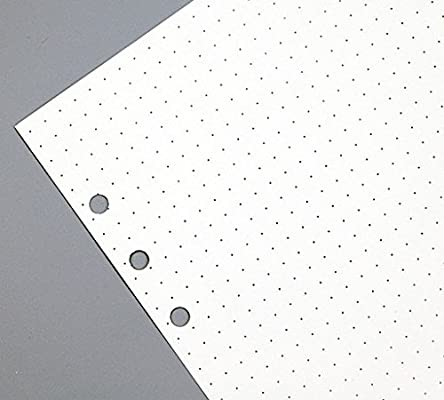 image regarding Bullet Journal Dot Grid Printable named 7 inch, A6 Filler Dotted Grid Paper for Bullet Magazine 90