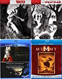 Monsters Old & New Blu-ray 5-Movie Collection - The Mummy (1999), Bram Stoker's Dracula (1992) Mary Shelly's Frankenstein (1994), Dracula (1931) and Wolf Man (1941) Exclusive Alex Ross Steelbook