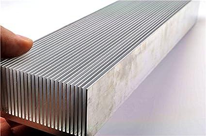 Live Stories 130/200/300 - Fregadero de aleación de Aluminio para Dientes, radiador electrónico de Alta Potencia (130 x 300 x 69 x 36 mm) 300 * 69 * 36MM