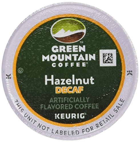 Green Mountain Coffee Hazelnut Decaf, Meet up with Roasted, K-Cup Portion Pack for Keurig K-Cup Brewers, 24-Count
