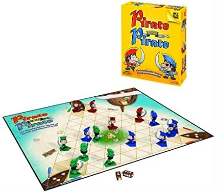 Amazon Com Pirate Versus Pirate The Swashbucklin Game Of Swords And Rewaaarrrds Toys Games