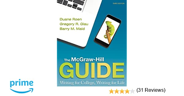 Workbook custom handwriting worksheets : The McGraw-Hill Guide: Writing for College, Writing for Life ...