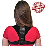 Posture Corrector for Women & Men Ultimate Effective Comfortable Adjustable Back Brace - Clavicle Cervical Support - Upper Better Back & Shoulder Pain Relief by Arena Club