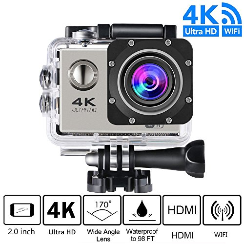 Action Camera, 4K Ultra HD