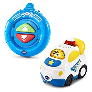 VTech Go! Go! Smart Wheels -Speedway RC SmartPoint Racer - Police Car Multicolor