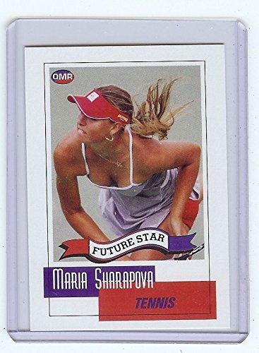 (MARIA SHARAPOVA 2004 Future Star Card Tennis rookie rc Sexy pose)