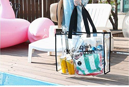 Sport Bag Makeup Storage Travelling Pool Separated Wet Kit Beach Water Black Dry Bag nbsp;Shoes For Swimming Swim Tote Gym Outdoor Bag Handbag Camping Toiletry Sports Bag Mesh Beach WYIZn6B