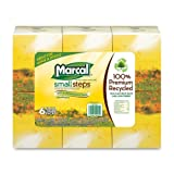 Wholesale CASE of 10 - Marcal Small Steps Recy 2-ply Cube Facial Tissue-Facial Tissue, Cube Box,2-Ply, 80/Box,8-2/5''x8-2/5'',6/PK,WE