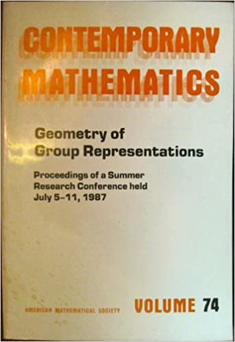 Geometry of Group Representations: Proceedings (Contemporary