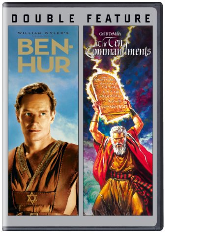 Double Feature: Ben Hur/Ten Commandments by Warner Home Video