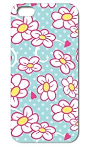 Vintage Flower Pop ,Tomhousmick-Custom DIY design hard case cover for Apple iphone 5 iphone ipod touch4