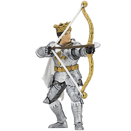 Papo Figurine Knights - Papo Prince with Bow and Arrow Figure, Multicolor