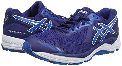 400 Gel Running foundation Bleu Blue 2e Homme De race 13 Chaussures Asics blue Print OUdwaqx