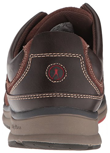 Hush Puppies Mens Ursprung Oxford Mörkbrun