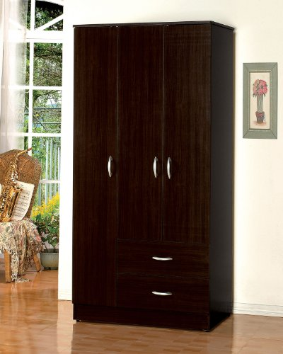 Acme 12248 Olean Wardrobe Set, Espresso Finish by ACME