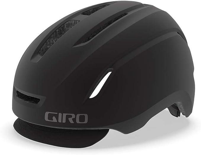 Giro Caden LED Casco de Ciclismo Urban, Matte Black, L | 59-63cm ...