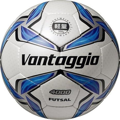 MOLTEN Fútbol leichtfutsal de fútbol, Color Blanco/Azul/Plata ...