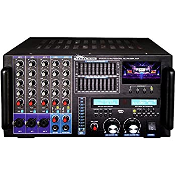 IDOLpro IP-6000 II 8000W Professional Karaoke Mixing Amplifier