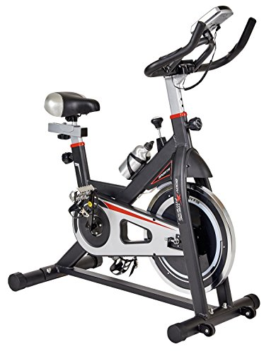 Body Xtreme Fitness Black Exercise Spin Bike, Drink Bottle, Resistance Bands, Home Gym Equipment, Training #RUXTREME Body Xtreme Fitness USA