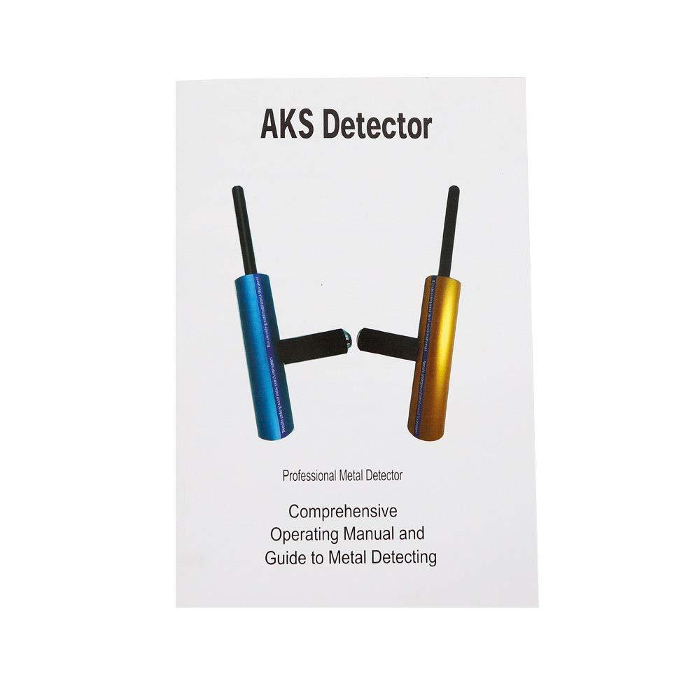Amazon.com : MONIPA Handhold Pro AKS Metal/Gold Detector, Gold Metal Detector AKS Scanning Finder Searcher, 12V 5.6-6KHZ CPU Control Detecting Machine, ...