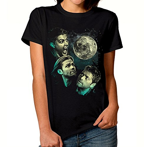 Supernatural Full Moon Art T-Shirt, Men's Women's All Sizes (L - Female)