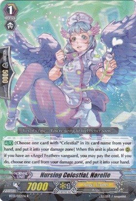 Cardfight!! Vanguard TCG - Nursing Celestial, Narelle (BT13/022EN) - Catastrophic Outbreak