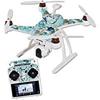 Skin For Blade Chroma Quadcopter – Island Fish | MightySkins Protective, Durable, and Unique Vinyl Decal wrap cover | Easy To Apply, Remove, and Change Styles | Made in the USA