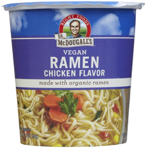 Dr. McDougall's Chicken Ramen Big Soup Cup - 1.8 oz - 6 pk