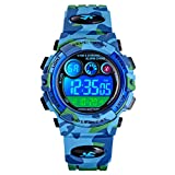 Watch Kid's Watches Boys Analog Digital Quartz Sport Electronic Military Dual Time Waterproof LED Back Light 164Ft 50M Water Resistant Calendar Alarm Stopwatch Multifunction (Blue) ...