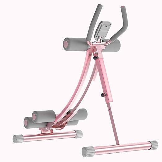 Fitness y Ejercicio Banco con Mancuernas de Color Rosa Silla para ...