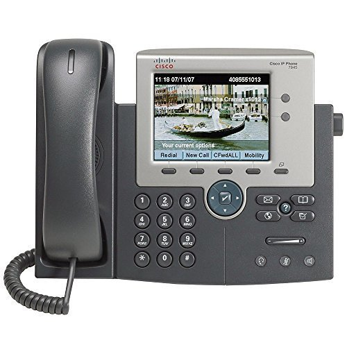 Cisco 7945G Two Line Color Display IP Phone, CP-7945G (Certified Refurbished) by Cisco