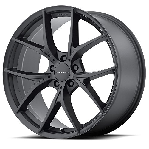 KMC KM694 WISHBONE Satin Black Wheel Chromium (hexavalent compounds) (20 x 8.5 inches /5 x 72 mm, 20 mm Offset)