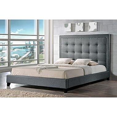 Baxton Studio Angelica Modern Platform Bed