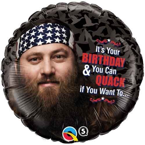 Duck Dynasty Happy Birthday Willie 18