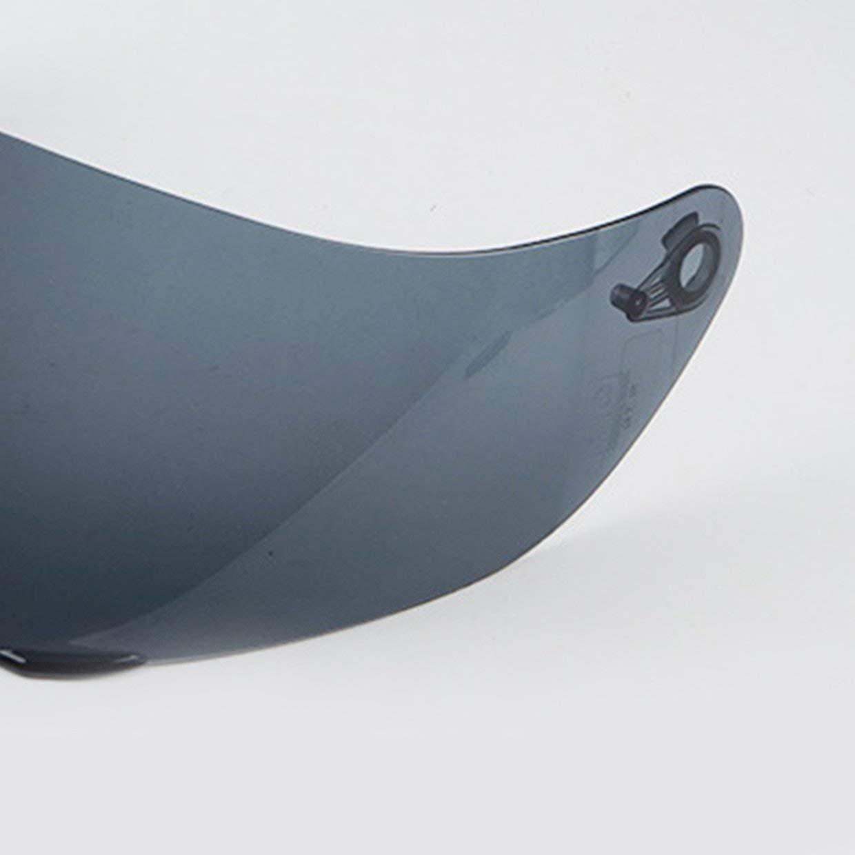 MXECO Visera de la cara llena casco de la motocicleta de la lente de la lente de reemplazo ser adecuado para 902 AGV K3 K1 SV K5 casco