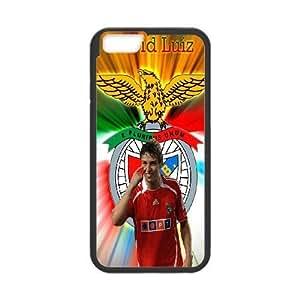 iPhone6s Plus 5.5 inch Phone Case Black David Luiz WQ5RT7463740