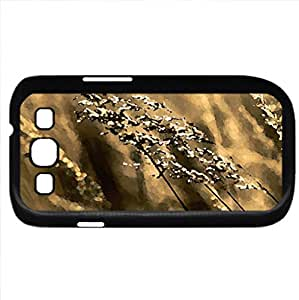 Hot summer (Grass Series) Watercolor style - Case Cover For Samsung Galaxy S3 i9300 (Black)