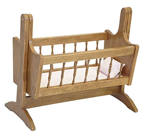 Adorable Doll Swinging Cradle - THIS IS A TOYHarvest American Made by Amish