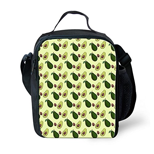 Showudesigns Mode Isotherme Box Fruits Lunch Avocado S déjeuner enfants nique 5 pour léger pique Sacs Fruit HHdarwqxnT