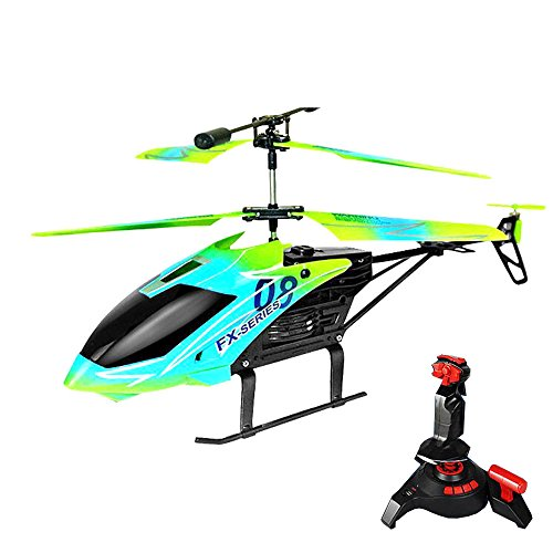 NiGHT LiONS TECH FX10 3.5 Channel 2.4GHz Double Blade RC Remote Control Helicopter Simulation Sound with Gyro RTF Outdoor Flight