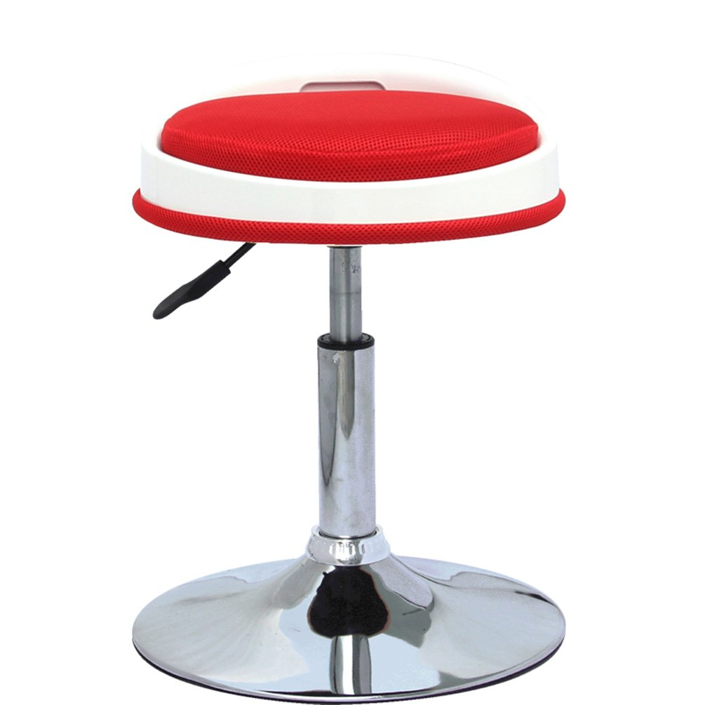 D NYDZ Bar Chair Shopping Table Chair Barber Shop Lift Stool Table Stool Home colorful Decorative Leisure Stool Nail Salon Stool Clubhouse Front Desk High Stool (color   B)