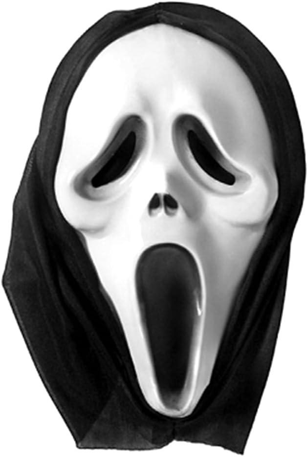 P&D Halloween Scream Capucha máscara de Disfraz: Amazon.es ...