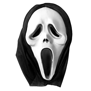 HALLOWEEN SCREAM capucha máscara de disfraz