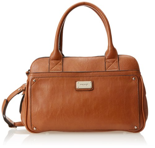 Nine West Double Vision Satchel HandbagCognacOne Size