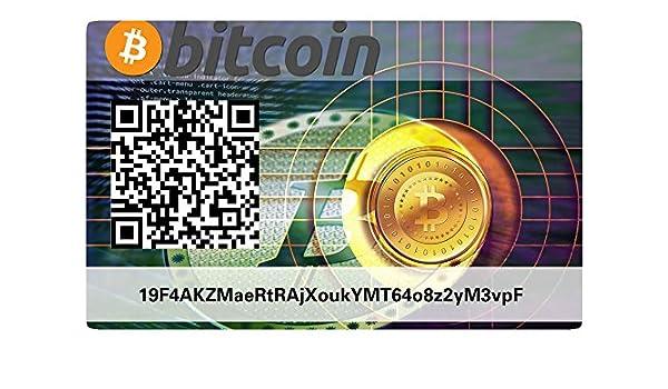 Bitcoin Paper Wallet Card, Hardware Wallet: Amazon.es ...