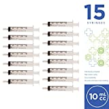 10ml Oral Syringe with Cover- 15 Syringes by Care Touch (No needle)