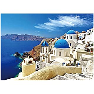 CESHUMD 100 Piece Jigsaw Puzzles for Kids Ages 4-8 The Age of Adults Kids-Aegean Sea, Puzzles for Toddler Children Learning Educational Puzzles Toys for Boys and Girls (Adults Aegean Sea)