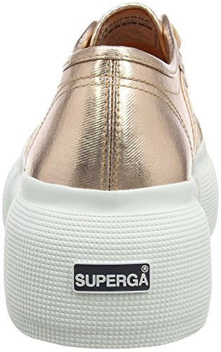 Rose 2287 Women Gold Sneakers for Superga Cotmetw 46Xq1w
