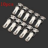 Toggle Latch - Toggle Latch Lock - 10 pcs Boxes Case Closure Hasp Button Nose Box Toggle Latch Duck Mouth Buckle Spring Clasp Lock (Stainless Steel Toggle Latch)